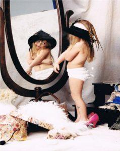 child-in-mirror