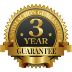 Three-Year Satisfaction Guarantee